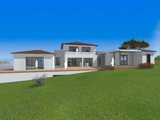 Maisons individuelles 34 bureau d 39 tude montpellier for Attestation rt 2012 maison individuelle