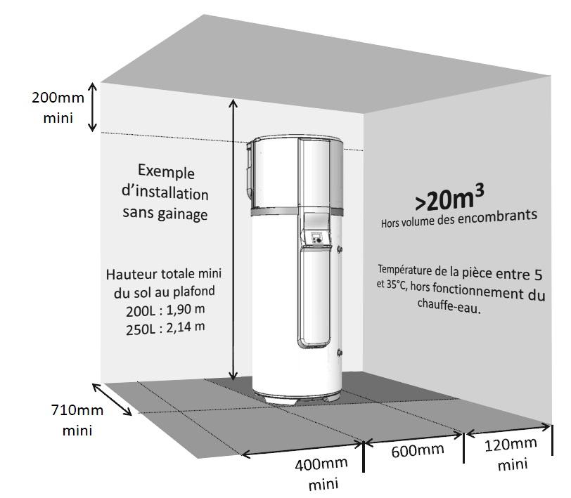 Thermodynamique sur air ambiant bureau d 39 tude montpellier - Temperature ideale chauffe eau ...